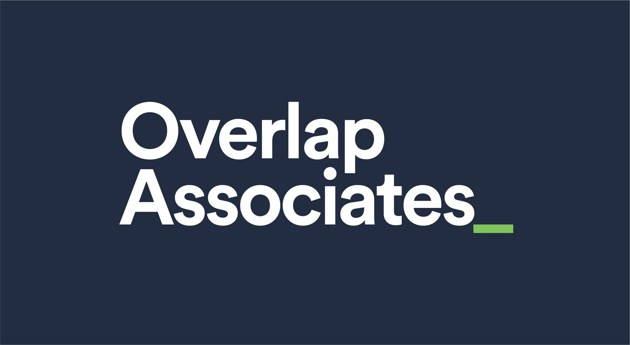 A New Look For Overlap Associates
