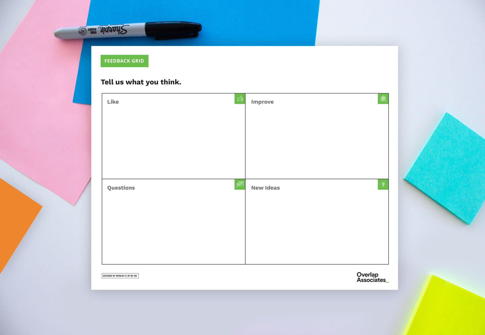 Feedback-Grid-Worksheet