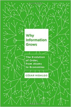 Why Information Grows The Evolution of Order from Atoms to Economics.jpg
